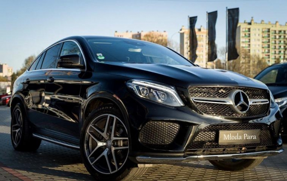 Mercedes GLE Coupe 2018